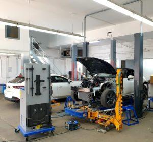 Karosserie vermessen mit Car-O-Liner
